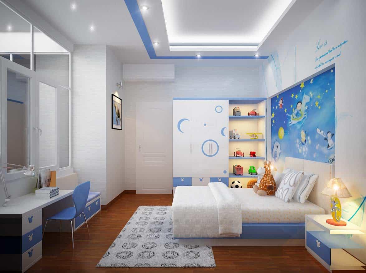 Lợi ích từ tranh tường phòng ngủ với bé, giấc mơ của bé