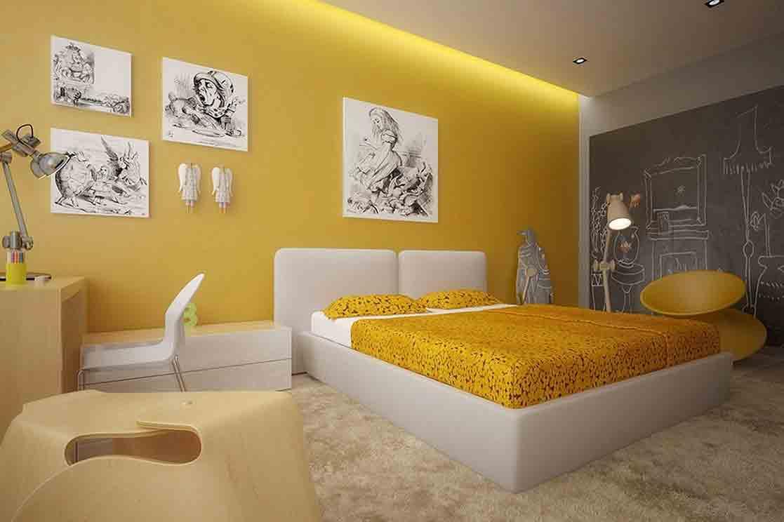Mẹo trang trí phòng ngủ nhỏ với tông màu sáng