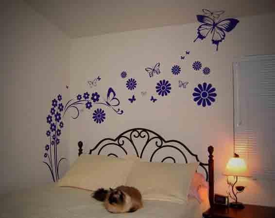 Vẽ tranh tường phòng bé độ tuổi 9 - 12