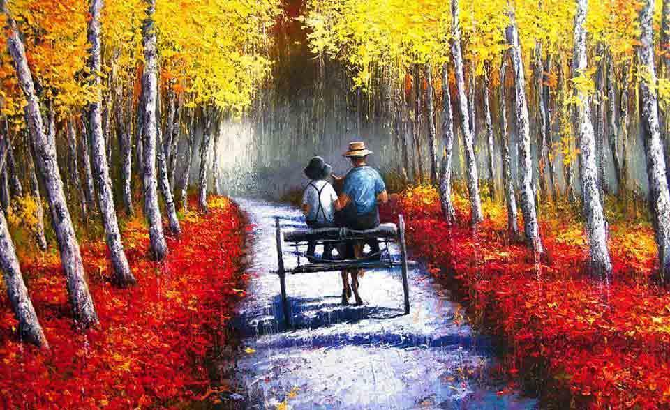 Ý nghĩa màu đỏ trong nghệ thuật vẽ tranh tường
